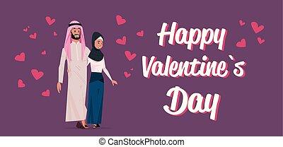 心, 概念, 愛, 上に, 女, アラビア, 地位, 日, 幸せ, 平ら, フルである, 恋人, アラビア人, 特徴, 横, 漫画, 人, バレンタイン, 一緒に, 形, 長さ, 包含