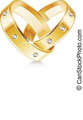 心, 結婚指輪, 2, 形づくられた