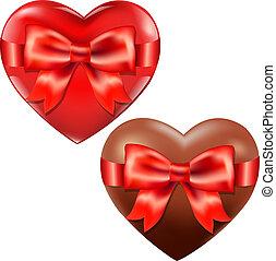 心, 红的弓