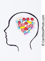 心, 頭腦