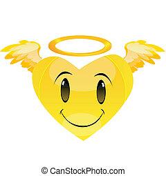 心, smiley, 天使