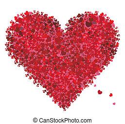 心, valentine, 爱, 形状