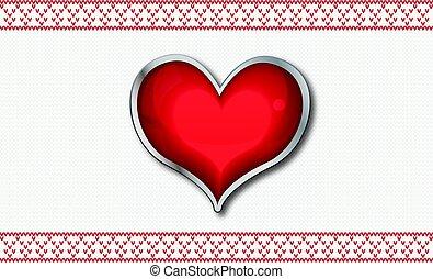 心, valentine`s, カード
