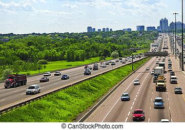 忙, 高速公路