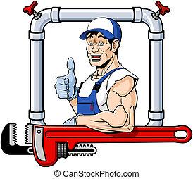 快乐, 水暖工