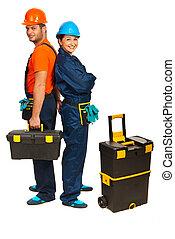 快樂, 建造者, 工人