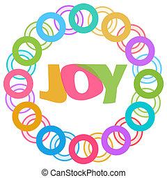 快樂, 鮮艷, 戒指, 圓