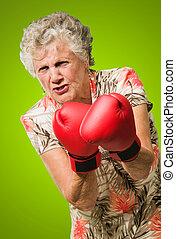怒り, シニア, ボクサー