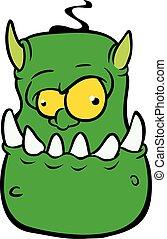 怒る, モンスター, 特徴, 悪魔, 漫画
