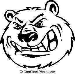 怒る, 熊