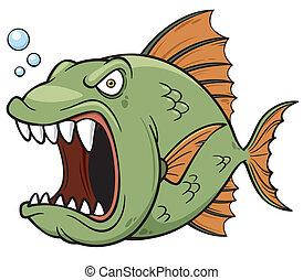 怒る, fish