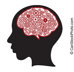 思慮深い頭脳