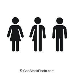 性, restroom, シンボル