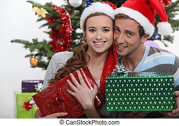 恋人, ∥で∥, クリスマスの ギフト