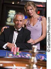 恋人, ギャンブル, ∥において∥, ルーレットテーブル