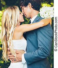 恋人, ロマンチック, 結婚式