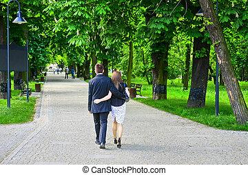 恋人, 公園