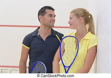 恋人, 後で, tenis, ゲーム