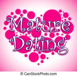 恋人, 心, 関係, 提示, 成長した, デートする