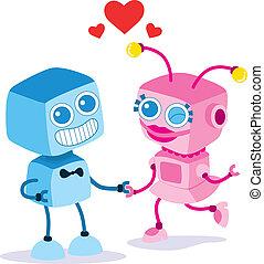 恋人, 愛, ロボット