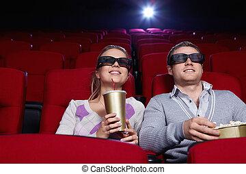 恋人, 映画館