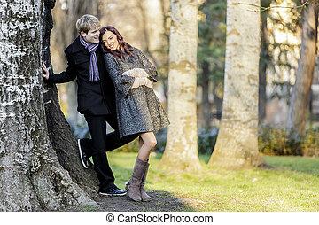 恋人, 森林