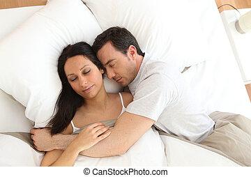 恋人, 睡眠