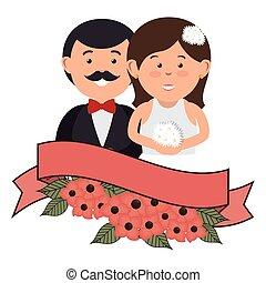 恋人, 結婚されている, 特徴, ただ