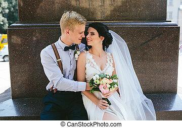 恋人, 結婚式, モデル