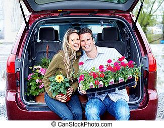 恋人, flowers., 幸せ