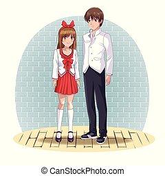 恋人, manga, anime, 漫画