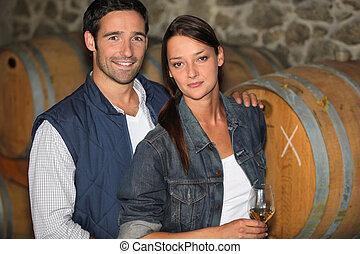 恋人, winemakers