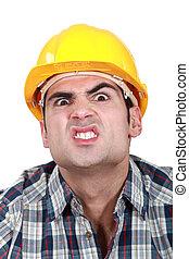 恐い, 建設, 労働者