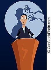 恐れ, 演説