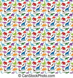 恐竜, パターン