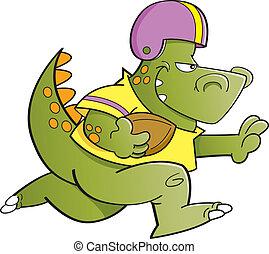 恐竜, フットボール