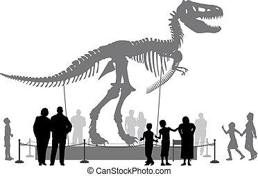 恐竜, 博物館