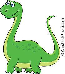 恐龙, 卡通漫画