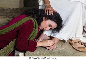 恥, メアリー magdalene, 涙
