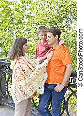 息子, 父, 母, 家族, 妊娠した