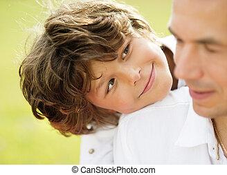 息子, 父, 自然