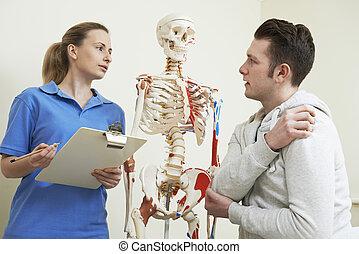 患者, 傷害, マレ, 記述, 整骨医
