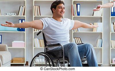 患者, 回復, 経ること, 医者, リハビリテーション, プログラム