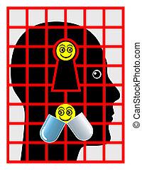 患者, 精神医学