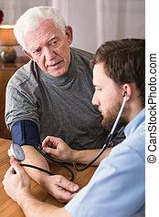 患者, 高血圧