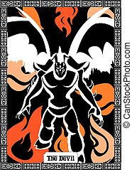 悪魔, カード