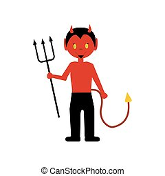 悪魔, ハロウィーンの衣装