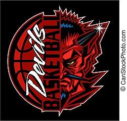 悪魔, バスケットボール