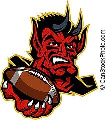 悪魔, フットボール