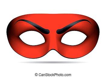 悪魔, マスク, カーニバル